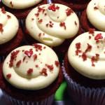 Cupcakes red velvet para acompañar
