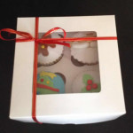 Cupcake regalo navidad
