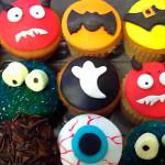 Cupcakes de halloween o dia de brujas