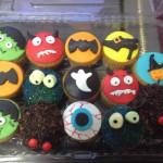 Cupcakes de halloween caritas