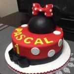 Torta infantil de minnie mouse cumpleanos