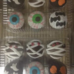 Cupcakes de halloween terror