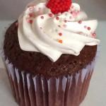 Cupcakes de chocolate frambuesa