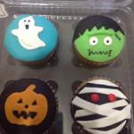 Cupcakes halloween tematica variados