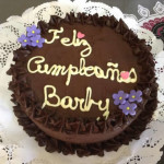 Torta chocolate de cumpleanos