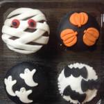 Cupcakes halloween variedades sabores