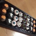 Cupcakes halloween decorados