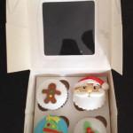 Cupcakes tematica navidad variedades