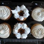 Cupcakes de pie de limon y manjar