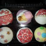 Cupcakes tematica de maternidad