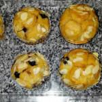 muffins de arandandos