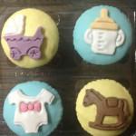 Cupcakes de bebe variedades