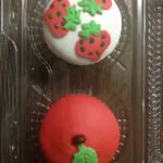Cupcakes tematica de frutas