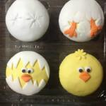 Mini Cupcakes tematica de pollito