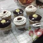 Cupcakes de bon o bon con crema
