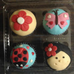 Cupcakes tematica jardin