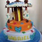 Tortas decoradas carrousel