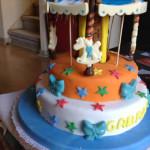 Tortas decoradas forma carrousel