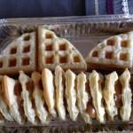 Waffles de mil hojas