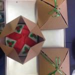 Cupcakes navidad regalo presentacion