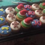 Cupcakes de navidad tematica variadades