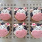 Cupcakes tematica vacas